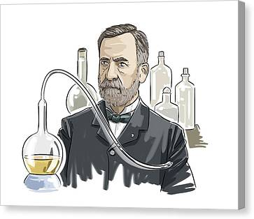 Louis Pasteur Canvas Print by Harald Ritsch
