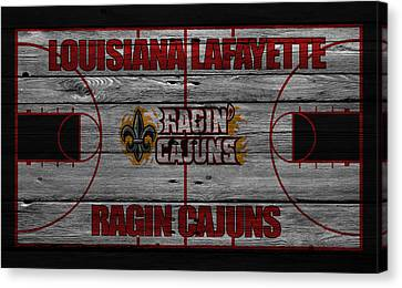Louisiana Lafayette Ragin Cajuns Canvas Print by Joe Hamilton