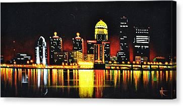 Louisville Canvas Print by Thomas Kolendra