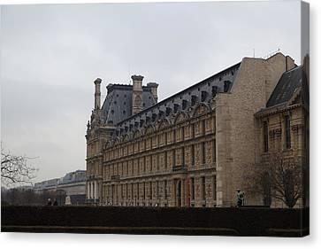 Louvre - Paris France - 011319 Canvas Print by DC Photographer
