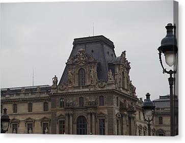 Louvre - Paris France - 011321 Canvas Print by DC Photographer