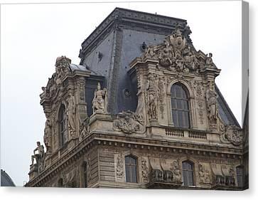Louvre - Paris France - 011328 Canvas Print by DC Photographer
