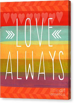 Love Always Canvas Print by Linda Woods