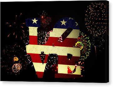 Love American Style Canvas Print by Bill Cannon