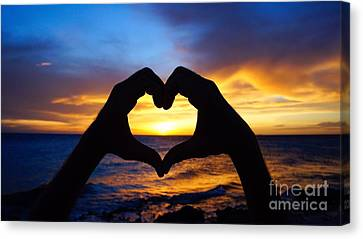 Love Canvas Print by Isabelle Kuehn