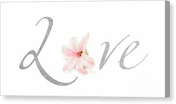 Love Canvas Print by Lucid Mood