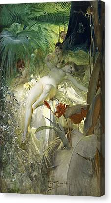 Love Nymph Canvas Print by Anders Zorn