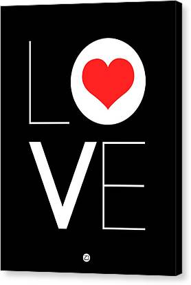 Love  Poster 7 Canvas Print by Naxart Studio