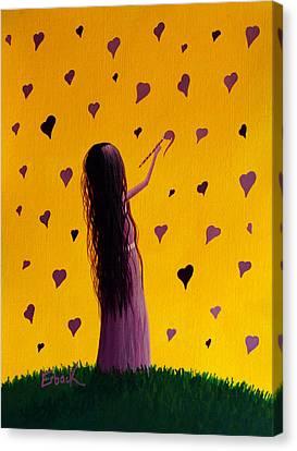 Love Canvas Print by Shawna Erback