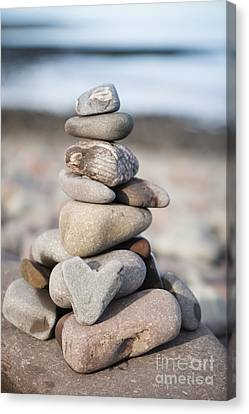 Love Stack Canvas Print by Anne Gilbert