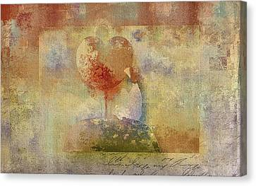 Love Tree 02-bt01bcr02 Canvas Print by Variance Collections