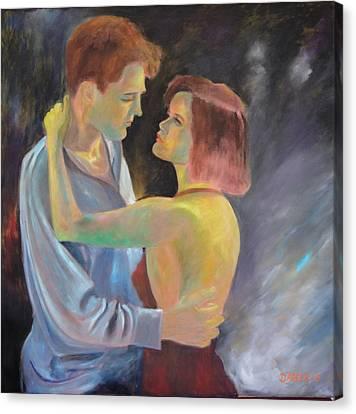 Loveaffair Canvas Print by Dagmar Helbig