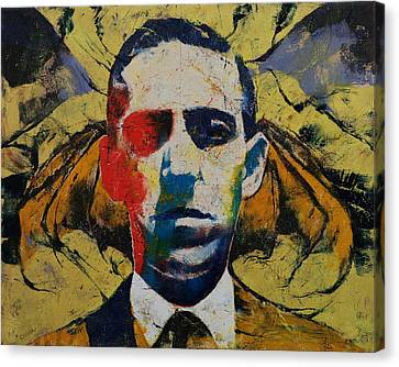 Lovecraft Canvas Print by Michael Creese