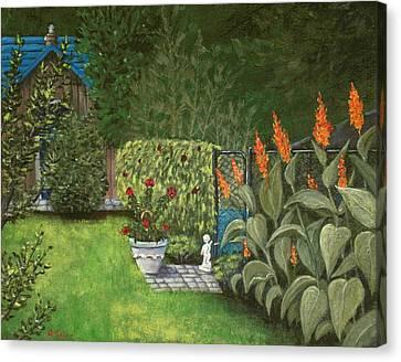 Lovely Green Canvas Print by Anastasiya Malakhova