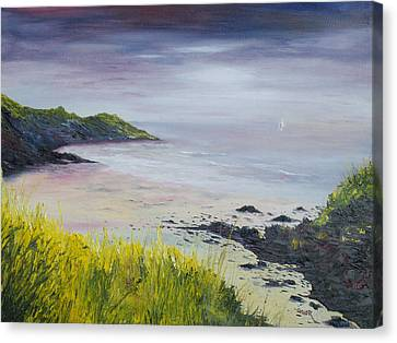 Lovers Cove Kinsale   Canvas Print by Conor Murphy