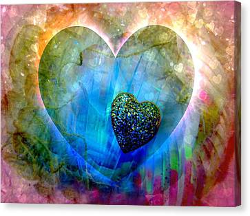 Love's Sighs Canvas Print by Shirley Sirois