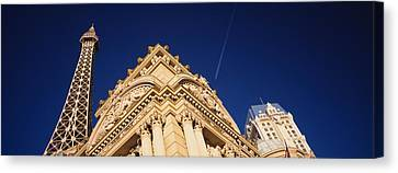 Low Angle View Of A Building In Front Canvas Print by Panoramic Images