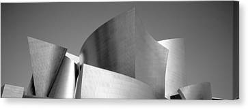 Low Angle View Of A Building, Walt Canvas Print by Panoramic Images
