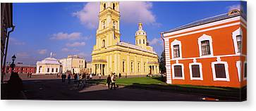 Low Angle View Of A Cathedral, Peter Canvas Print by Panoramic Images