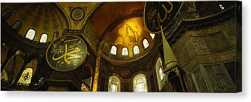 Low Angle View Of A Ceiling, Aya Canvas Print by Panoramic Images