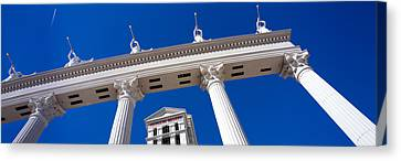 Low Angle View Of A Hotel, Caesars Canvas Print by Panoramic Images