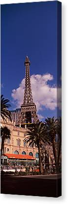 Low Angle View Of A Hotel, Replica Canvas Print by Panoramic Images