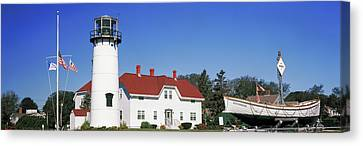 Low Angle View Of A Lighthouse, Chatham Canvas Print by Panoramic Images