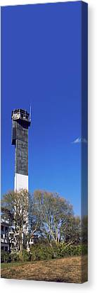 Low Angle View Of A Lighthouse Canvas Print by Panoramic Images