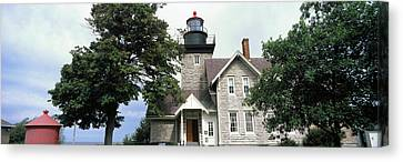 Low Angle View Of A Lighthouse, Thirty Canvas Print by Panoramic Images