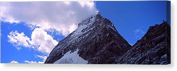 Low Angle View Of A Mountain Peak, Mt Canvas Print by Panoramic Images