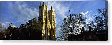 Low Angle View Of An Abbey, Westminster Canvas Print by Panoramic Images
