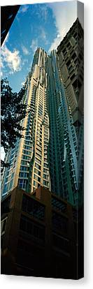 Low Angle View Of An Apartment, Wall Canvas Print by Panoramic Images