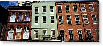 Low Angle View Of Buildings, Riverwalk Canvas Print by Panoramic Images