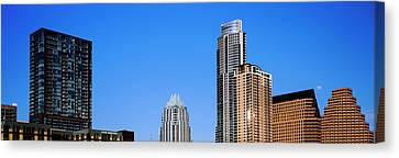 Low Angle View Of Skyscrapers, Austin Canvas Print by Panoramic Images