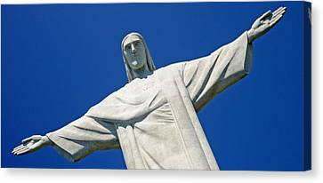 Low Angle View Of The Christ The Canvas Print by Panoramic Images