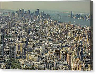 Lower Manhattan Canvas Print by Chris Holmes