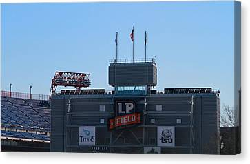 Lp Field Nashville Tennessee Canvas Print by Dan Sproul