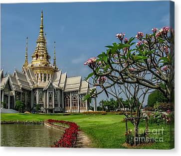 Luang Phor Toh Temple Canvas Print by Adrian Evans