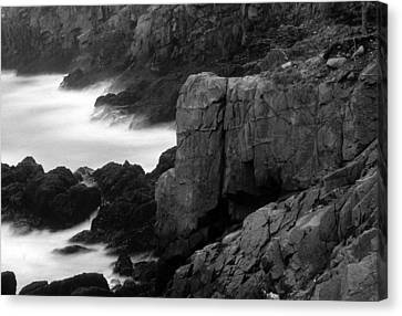Lubec-maine Canvas Print by Harold E McCray