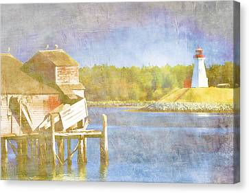 Down East Canvas Print featuring the photograph Lubec Maine To Campobello Island by Carol Leigh