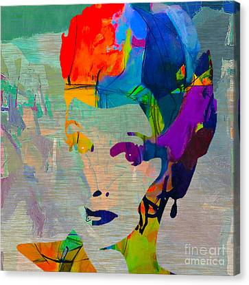 Lucille Ball Canvas Print by Marvin Blaine