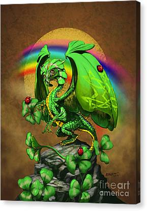 Luck Dragon Canvas Print by Stanley Morrison