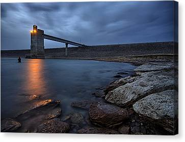 Lucky 13 Canvas Print by Thomas Zimmerman