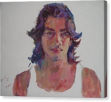 Luis Canvas Print by Todd Taro