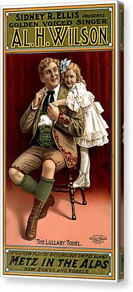 Lullaby Yodel Canvas Print by Terry Reynoldson