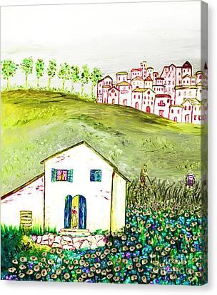 L'ultima Fatica Canvas Print by Loredana Messina