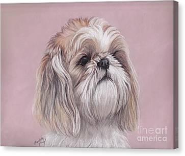 Lulu Canvas Print by Charlotte Yealey