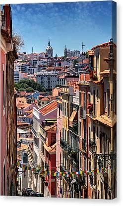 Luminous Lisbon Canvas Print by Carol Japp