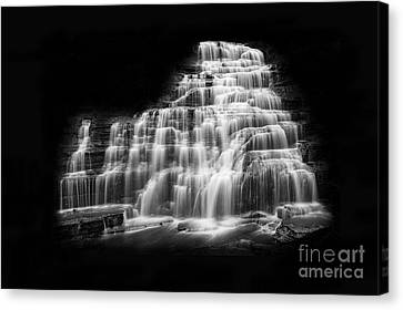 Luminous Waters Vii Canvas Print by Michele Steffey