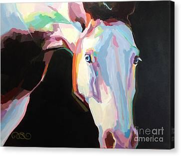 Luna Iv Canvas Print by Kimberly Santini